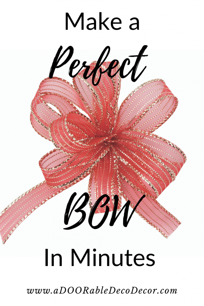 Learn how to make a bow with ribbon. Read tips and watch this video about bow making by hand!