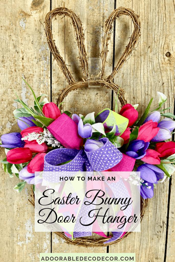 How to Make an Easter Door Hanger