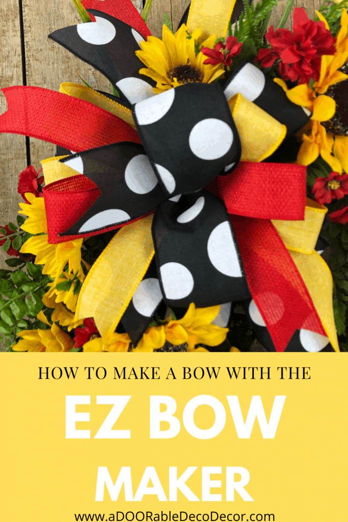 How to Make a Bow with the EZ Bow Maker