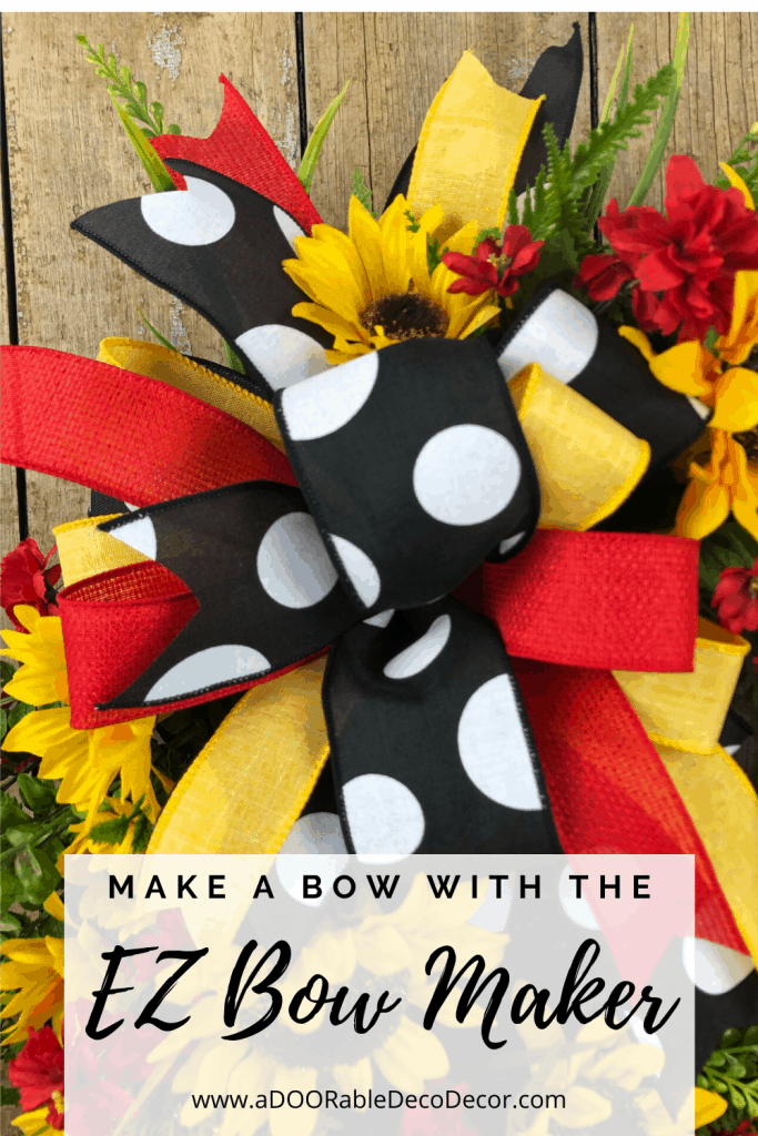 Make a bow with the EZ Bow Maker