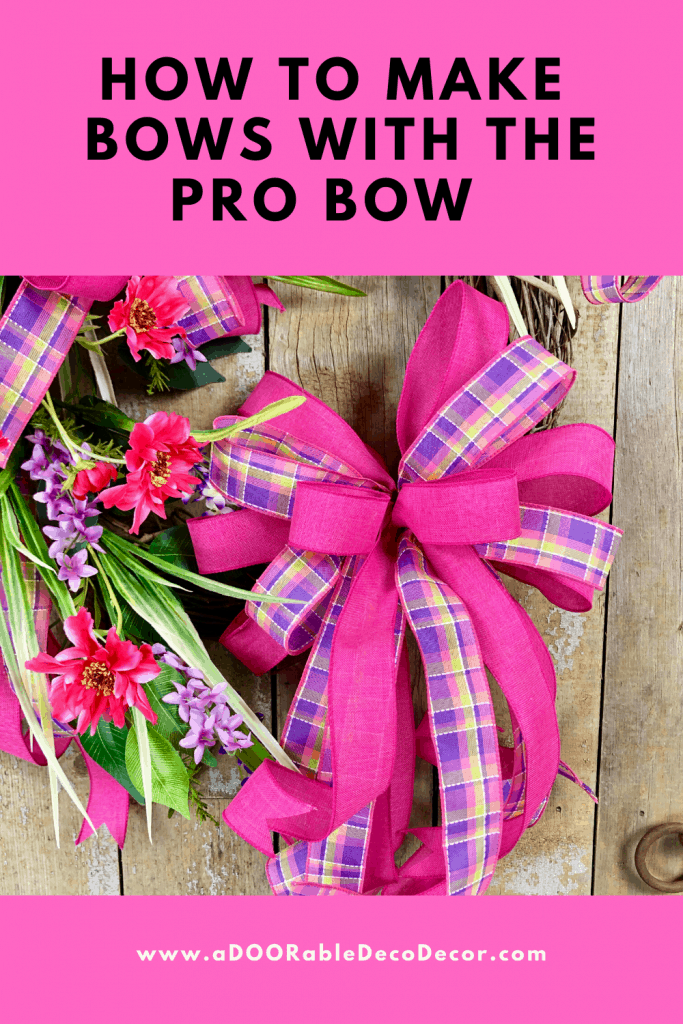 How to Make a Bow with Pro Bow the Hand