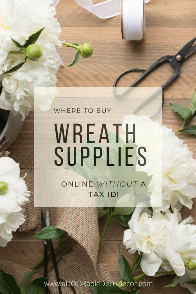 Where to Buy Wreath Supplies