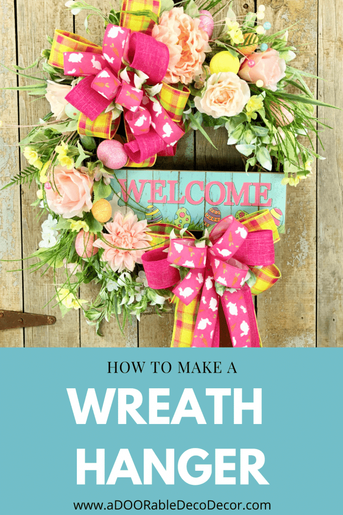 How to Add a Wreath Hanger